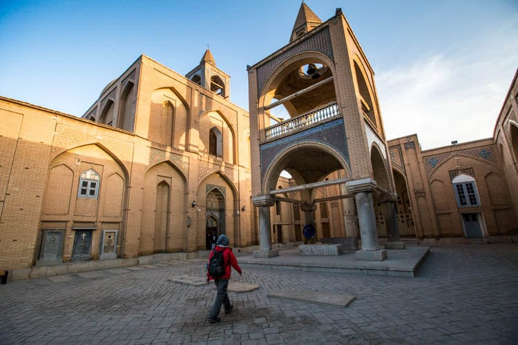 Cathédrale Saint-Sauveur, Ispahan