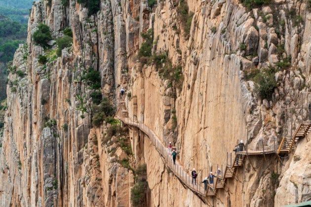 Visiter le Caminito del Rey en Andalousie : billets, tarifs, horaires