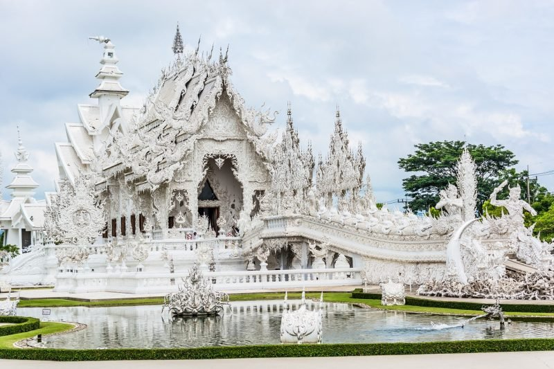 Temple blanc, Chiang Rai, Thaïlande
