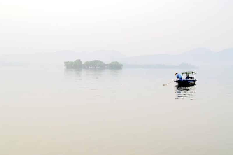 Lac de l'Ouest à Hangzhou, Zhejiang
