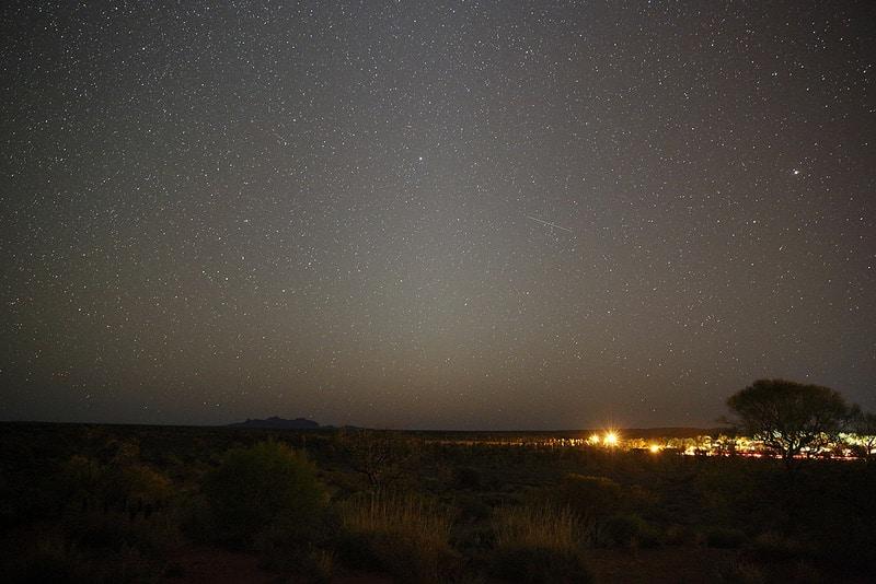 Dormir à Yulara, Australie
