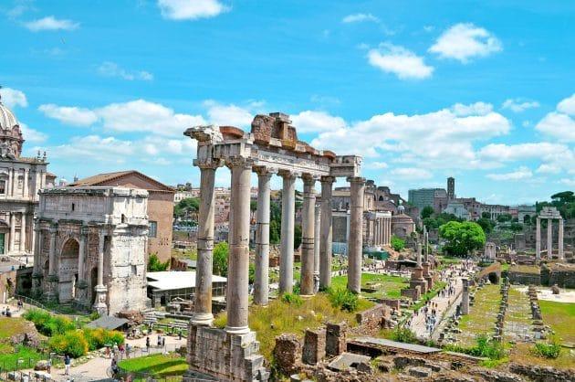 Visiter le Forum Romain à Rome : billets, tarifs, horaires
