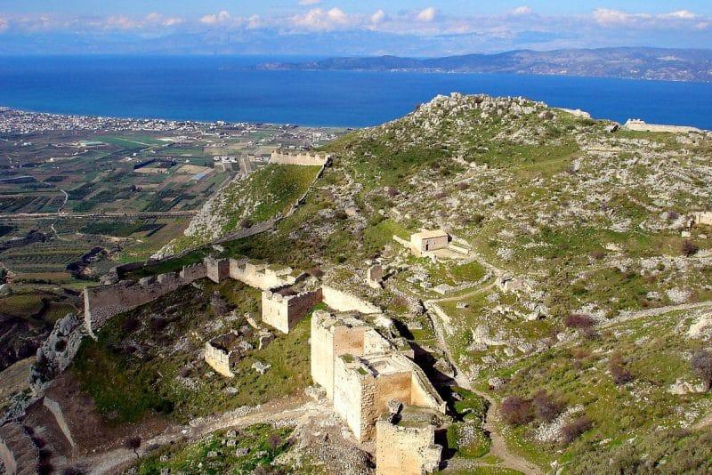 Cité antique Acrocorinthe, Corinthe