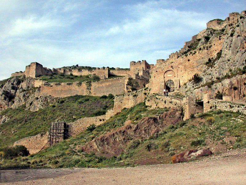 Site de l'Acrocorinthe
