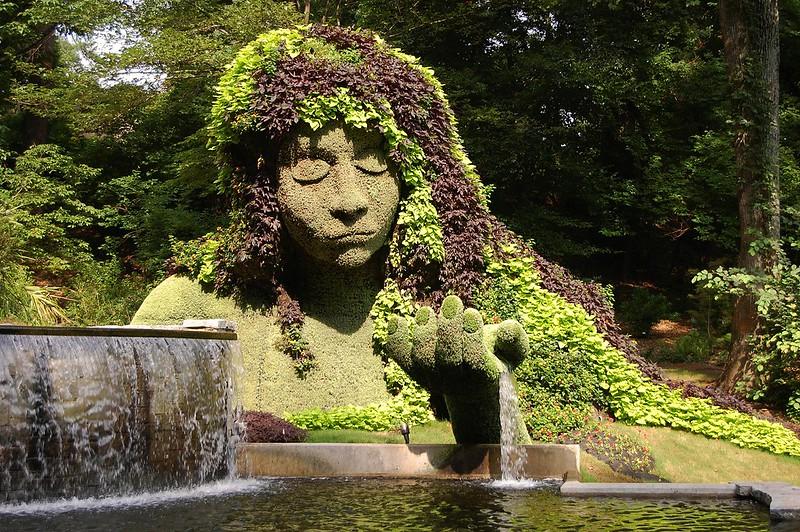 Jardin botanique d'Atlanta, Géorgie