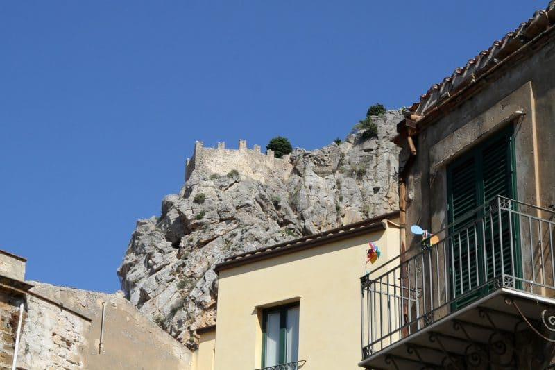 Château de Cefalù, Sicile