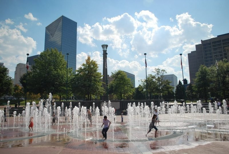 Centennial Olympic Park, Atlanta, Géorgie