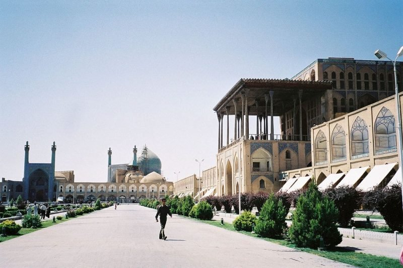 Place de l'imam Khomeiny, Ispahan
