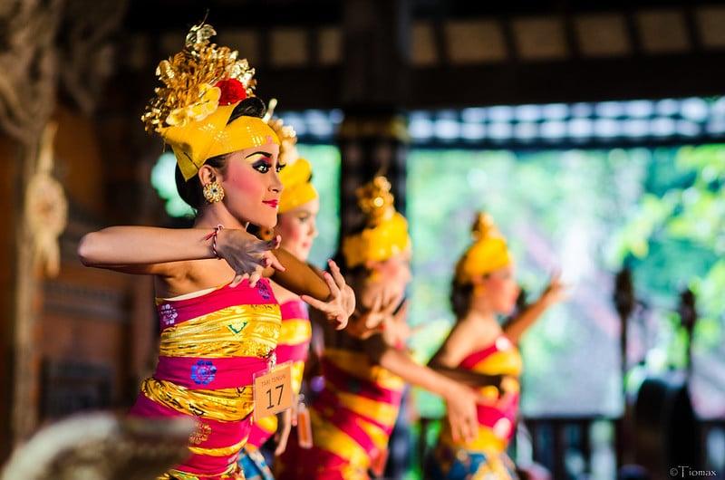 Spectacle de danse, Ubud