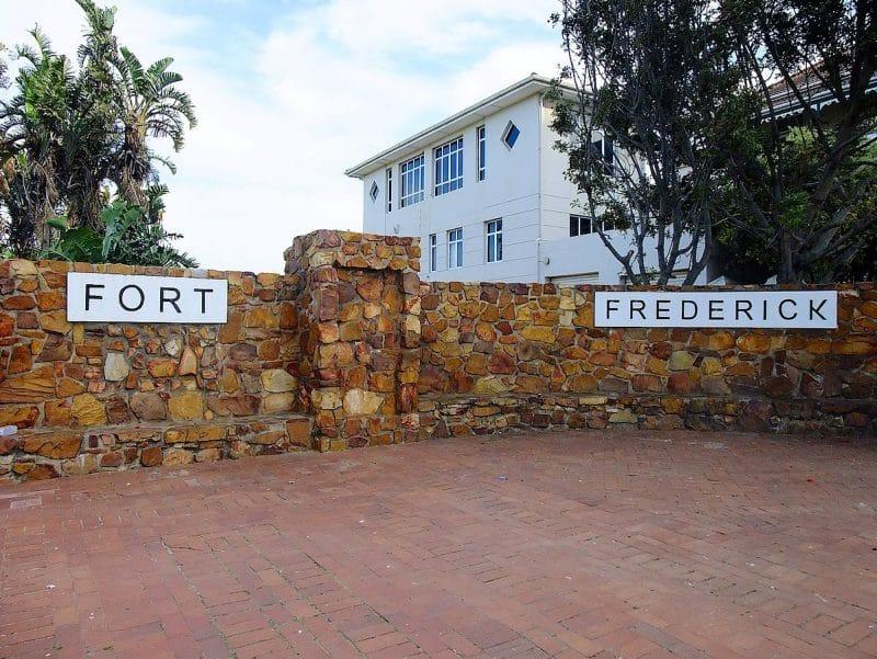Fort Frederick, Port Elizabeth