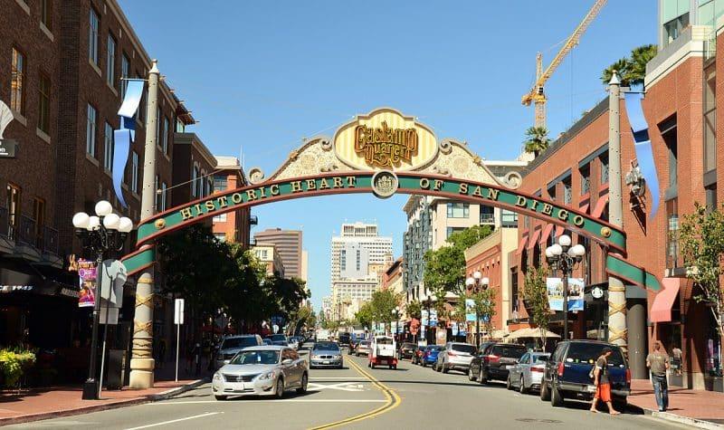 Gaslamp quarter, San Diego, CA