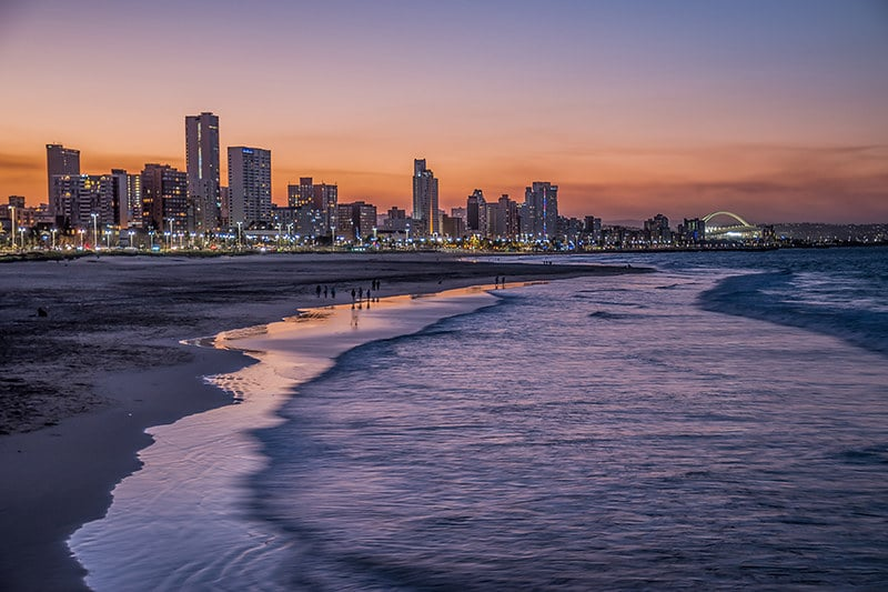 Golden Mile, Plage, Durban