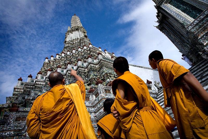 Histoire du temple Wat Arun, Bangkok