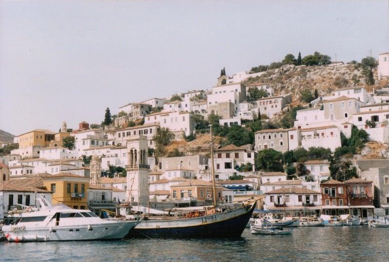 Port d'Hydra, Grèce