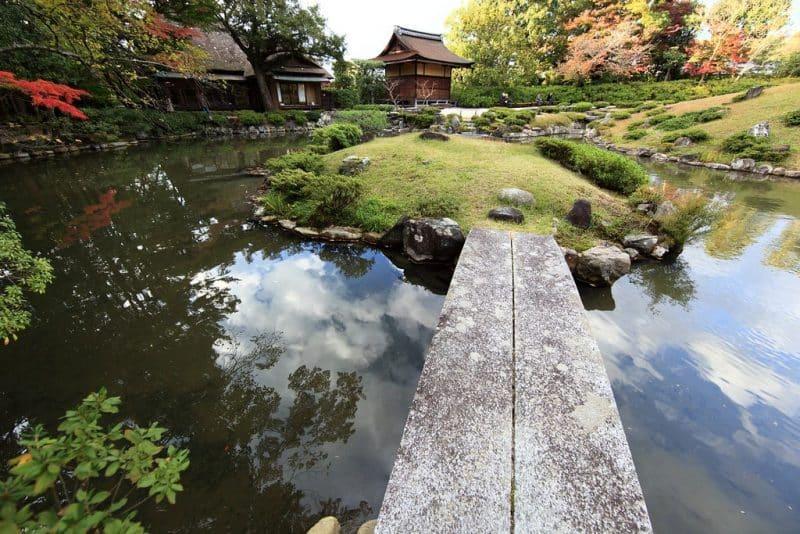 Jardin Isui-en, Nara