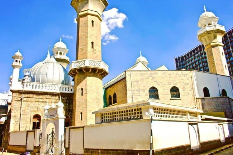 Moquée Jamia, Grande mosquée de Nairobi