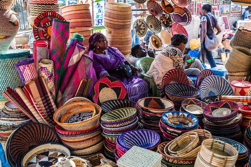 Le marché Maasaï, Nairobi
