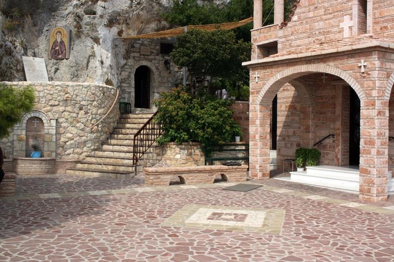 Monastère de Saint Patapios, Corinthe