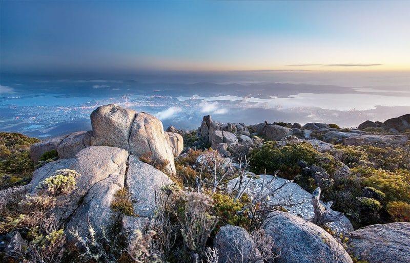 Mont Wellington, Hobart