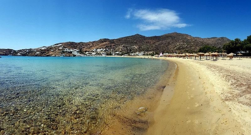Mylopotas, plage, Ios