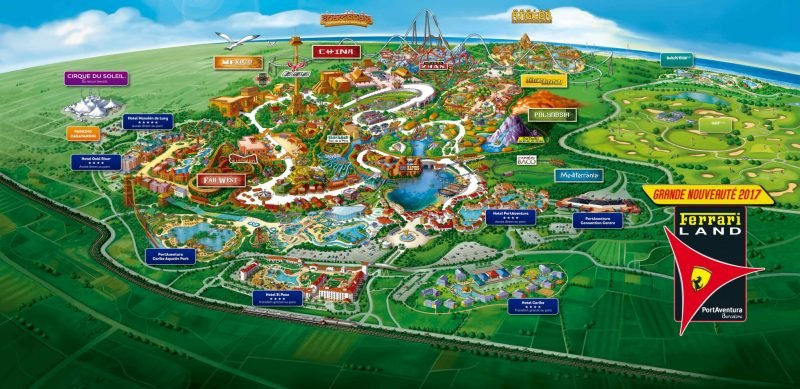 Plan de Port Aventura World