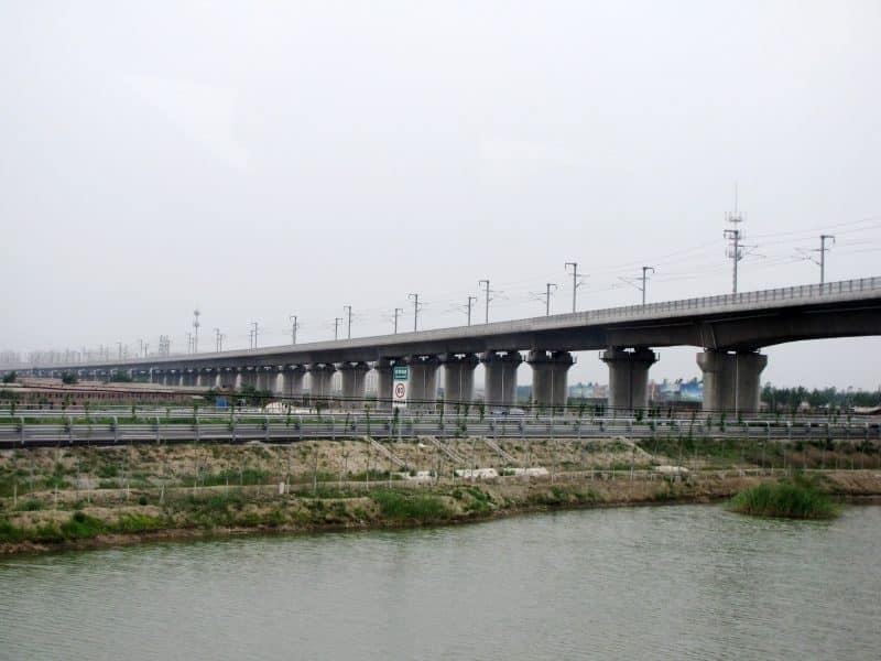 Grand viaduc de Tianjin