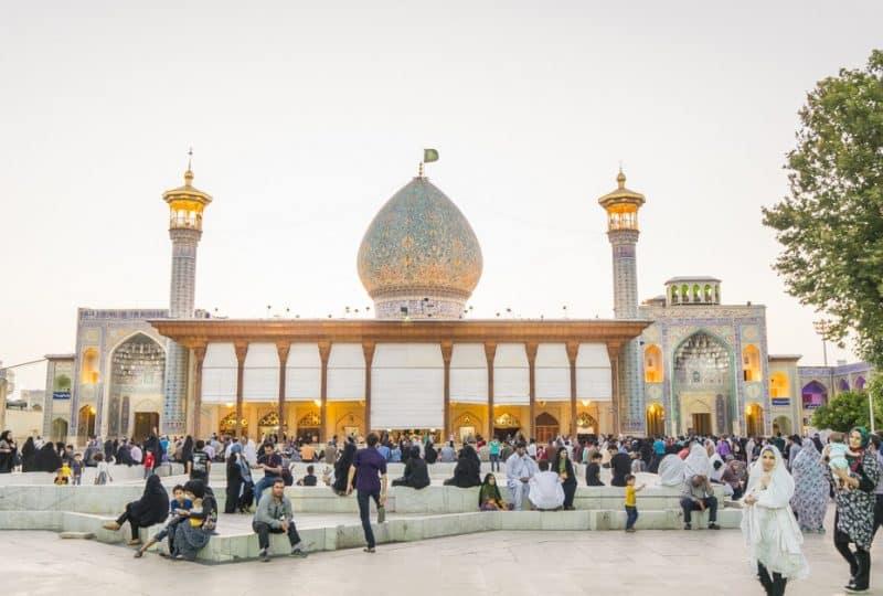 Mosquée et mausolée Shah Cheragh, Chiraz