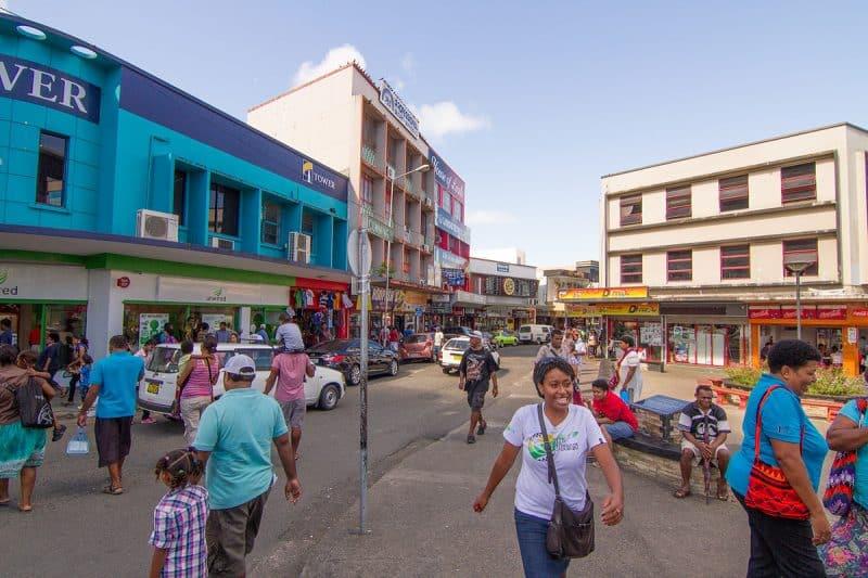Centre-ville de Suva