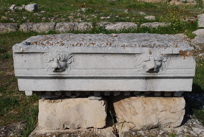 Temple d'Isthmia, Corinthe