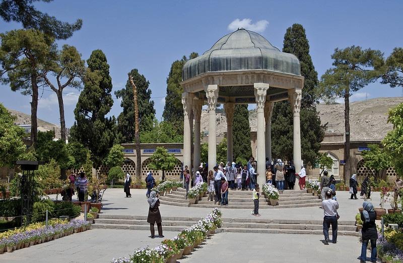 Mausolée et tombe d'Hafez, Chiraz