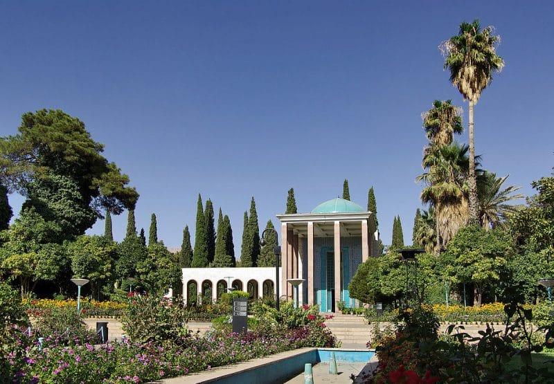 La Tombe de Saadi, Chiraz