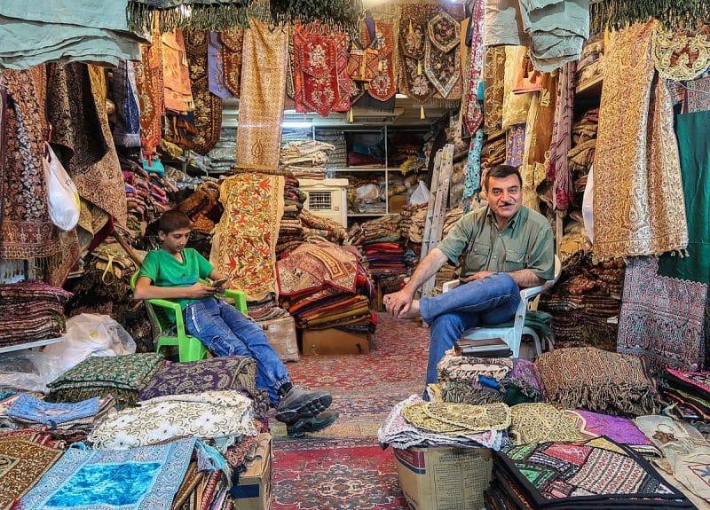 Le Bazar de Vakil, Chiraz