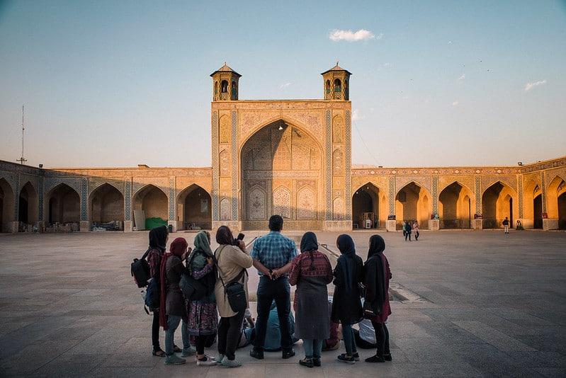Mosquée Vakil, Chiraz, Iran