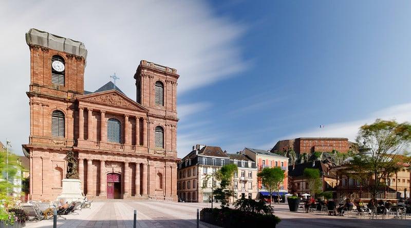 Cathédrale Saint-Christophe de Belfort et Château de Belfort