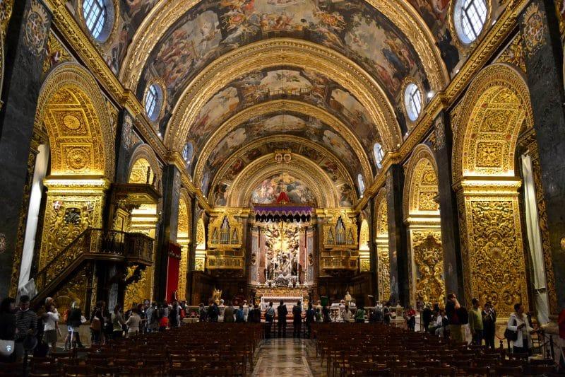 La Valette, co-cathédrale St Jean