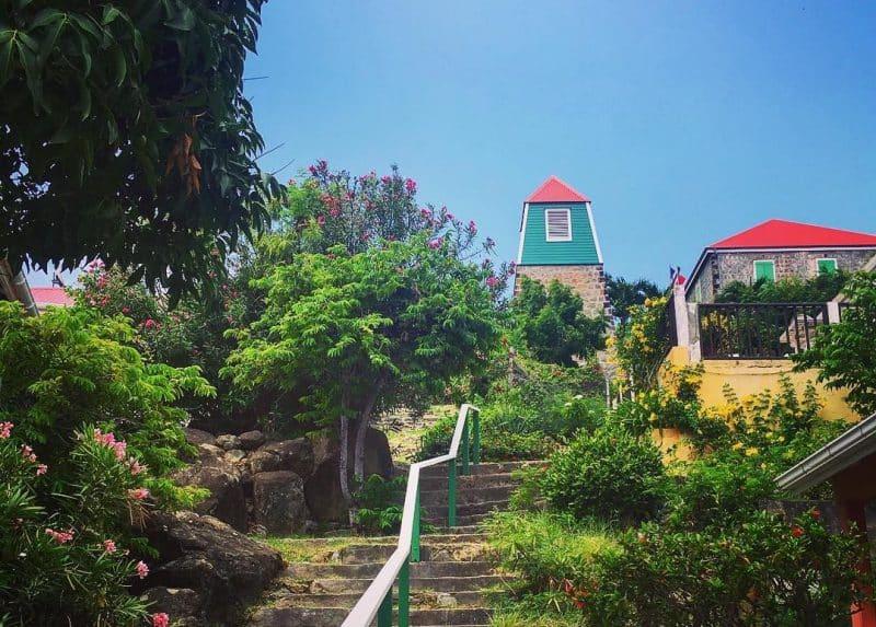 Clocher suédois de Gustavia