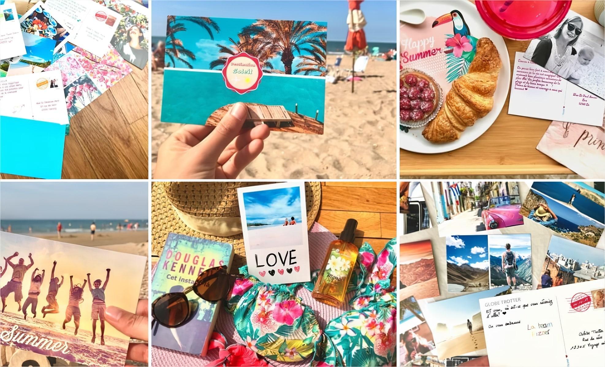 Idée cadeau : carte postale en ligne