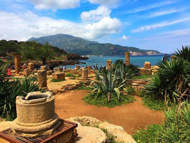 Ruines romaines de Tipaza : à la découverte des décors pittoresques algériens