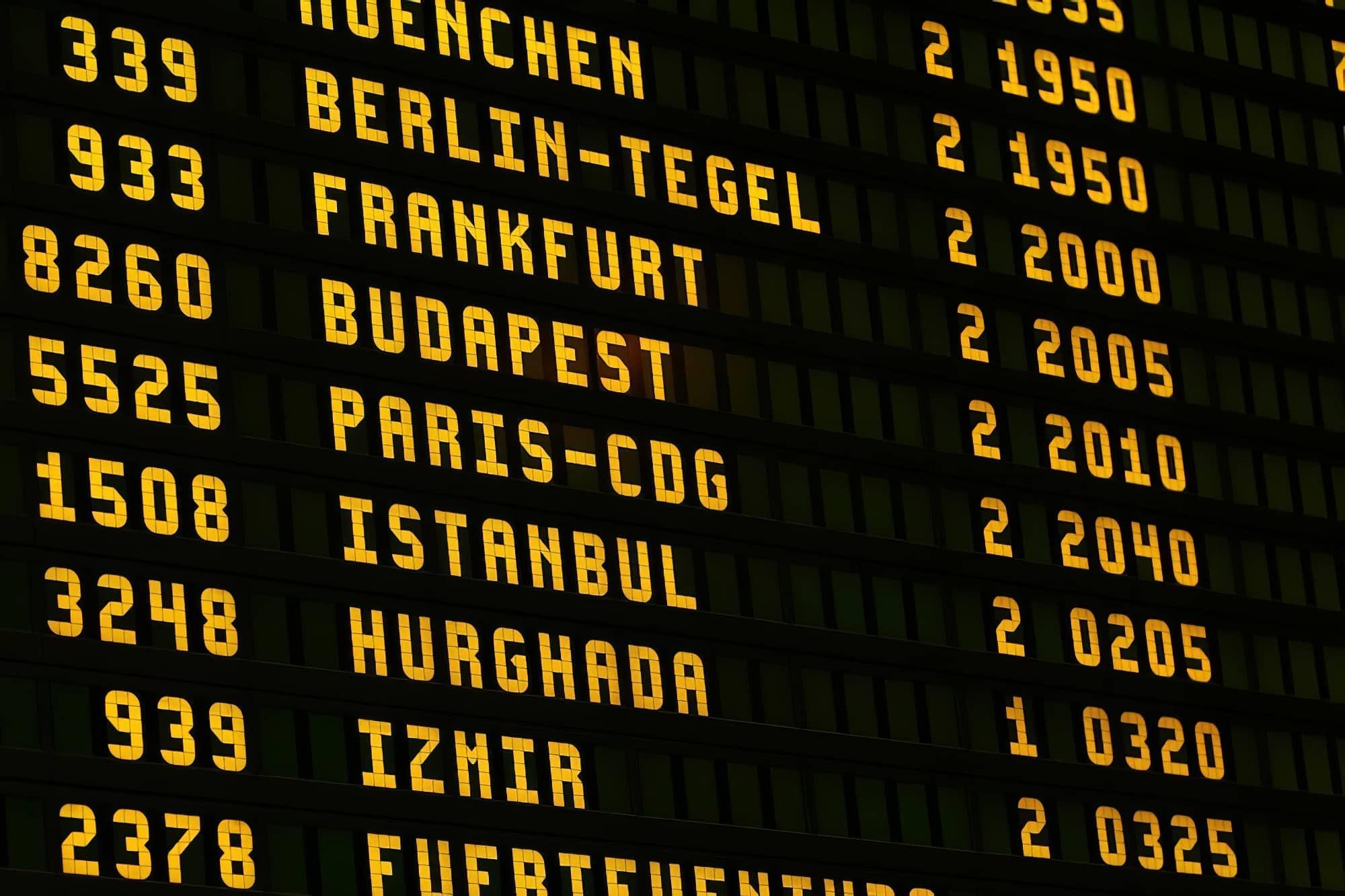 10 compagnies aériennes moins ponctuelles