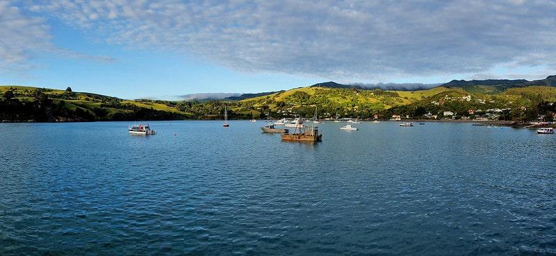 Akaora, Nouvelle-Zélande