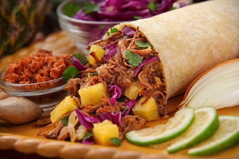 Gastronomie à Mexico