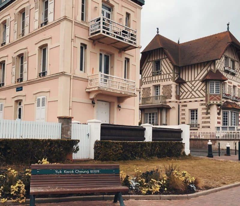 Centre-ville de Cabourg