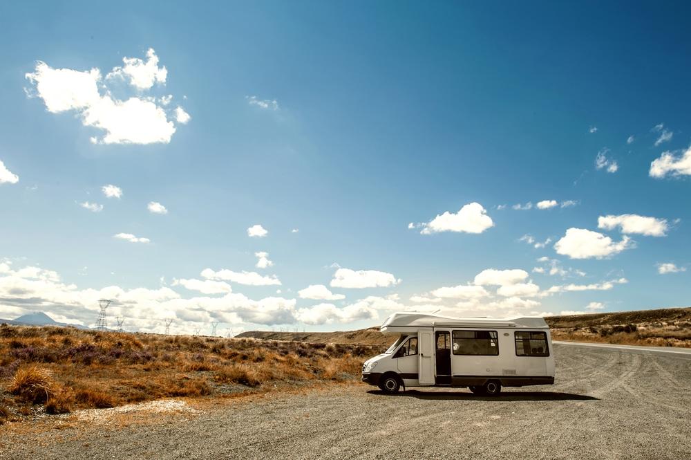Modèle capucine, camping-car