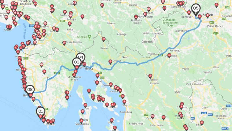 Camping-car Croatie