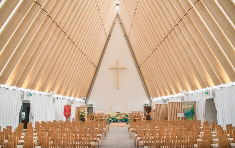 Cathédrale en carton, Christchurch (Transitional cathedral)