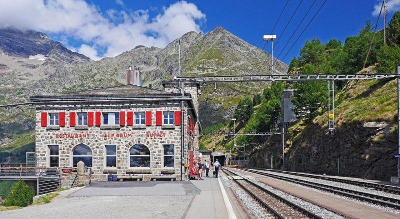 Col de la Bernina, Suisse
