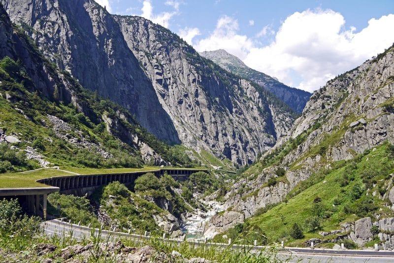 Col du Saint-Gothard, Suisse