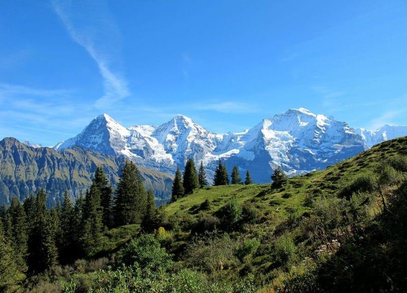 L'Eiger, Suisse