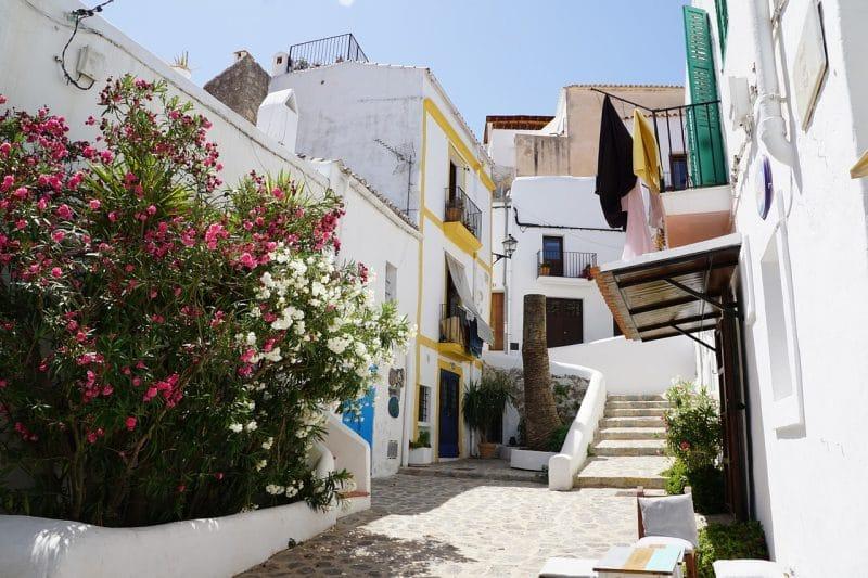 Vieille ville d'Ibiza, Eivissa, Ibiza
