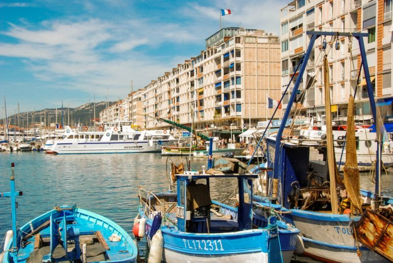 Ferry au départ de Toulon